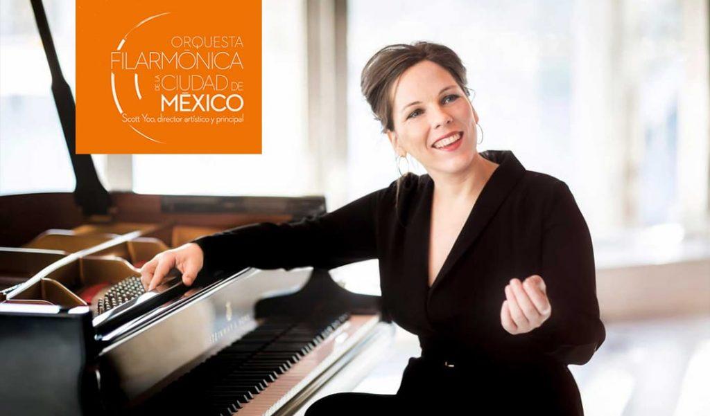 Daria von den Bercken and the Mexico City Philharmonic poster